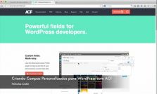 Curso Criando Campos Personalizados para WordPress com Advanced Custom Fields