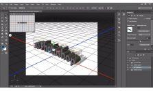 Curso de Photoshop CC - 3D Avançado e Edição de Vídeos