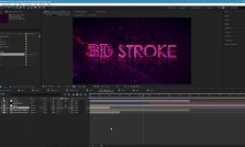 Curso de After Effects - Trapcode 3D Stroke