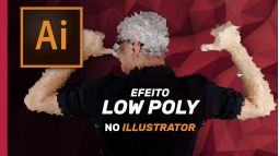Como utilizar o efeito Low Poly no Adobe Illustrator CC